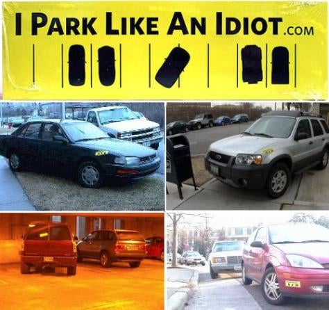 Bumper Stickers For Less Than Perfect Parking