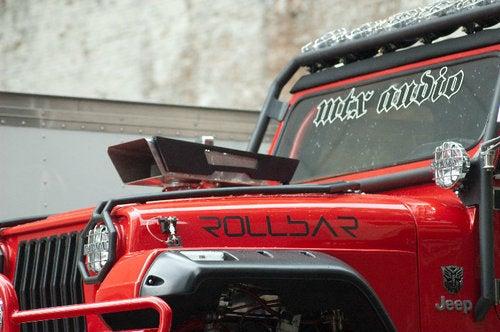 Transformers Jeep: Rollbar Set Photos