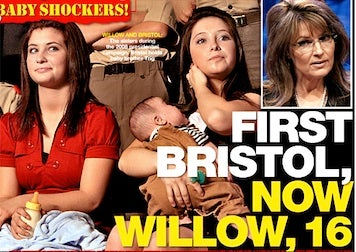 "It's Time For A Willow Palin ""Pregnancy Scandal""!"
