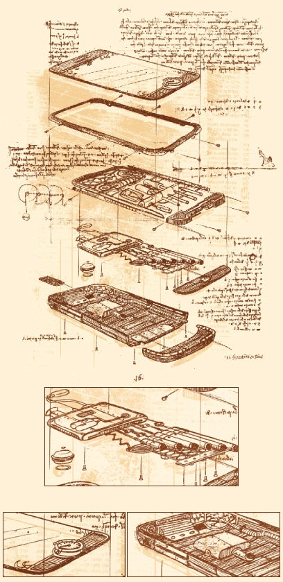 The iPhone as Designed By Leonardo da Vinci