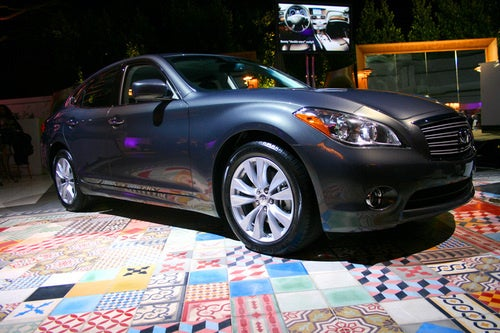 2011 Infiniti M: Where To Put A 5.6-Liter V8