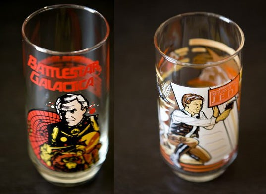 Cool Battlestar and Star Wars Collectables of Yesteryear