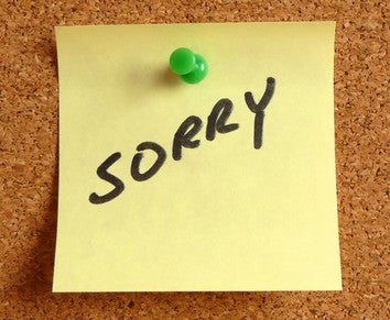 Social Minefield: Learning To Say You're Sorry