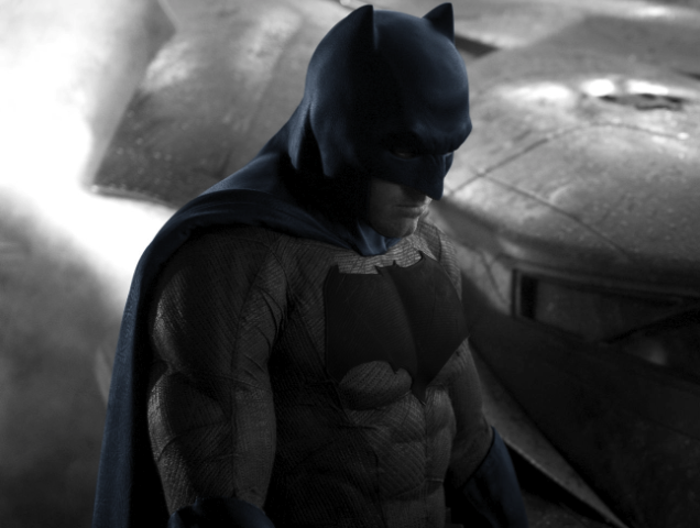 Will Batman's New Suit Also Include A New Palette?
