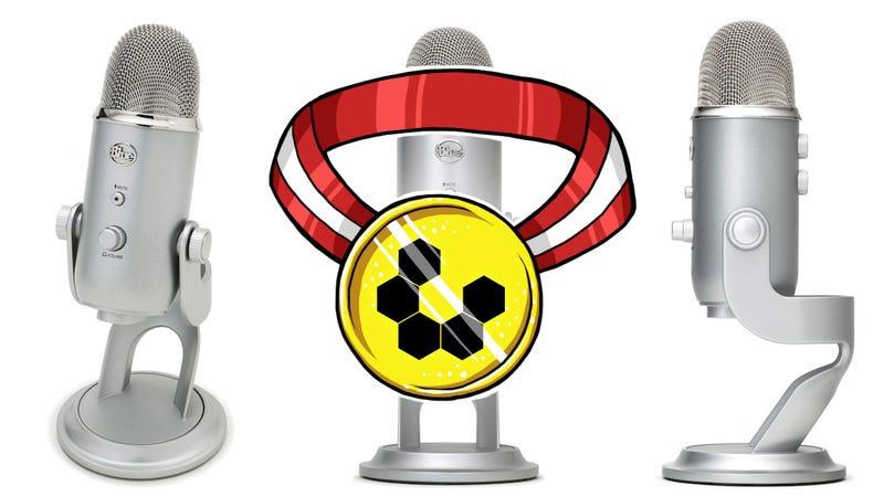 Most Popular Desktop Microphone: Blue Yeti/Yeti Pro