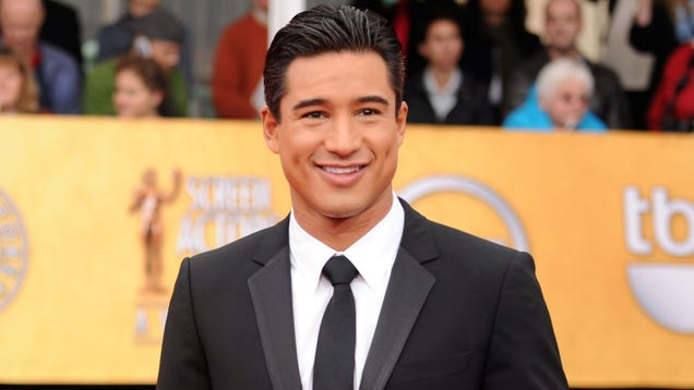 Mario Lopez Likes to Reread His Own Book