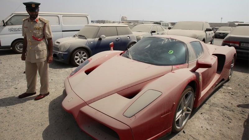 Abandoned Dubai Ferrari Enzo