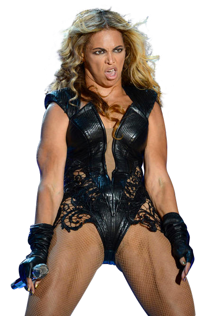 Photoshop Contest: Unflattering Beyoncé Pictures