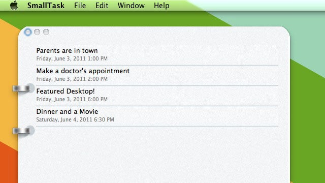 SmallTask Is a Minimalist Dropbox-Syncing Task Manager