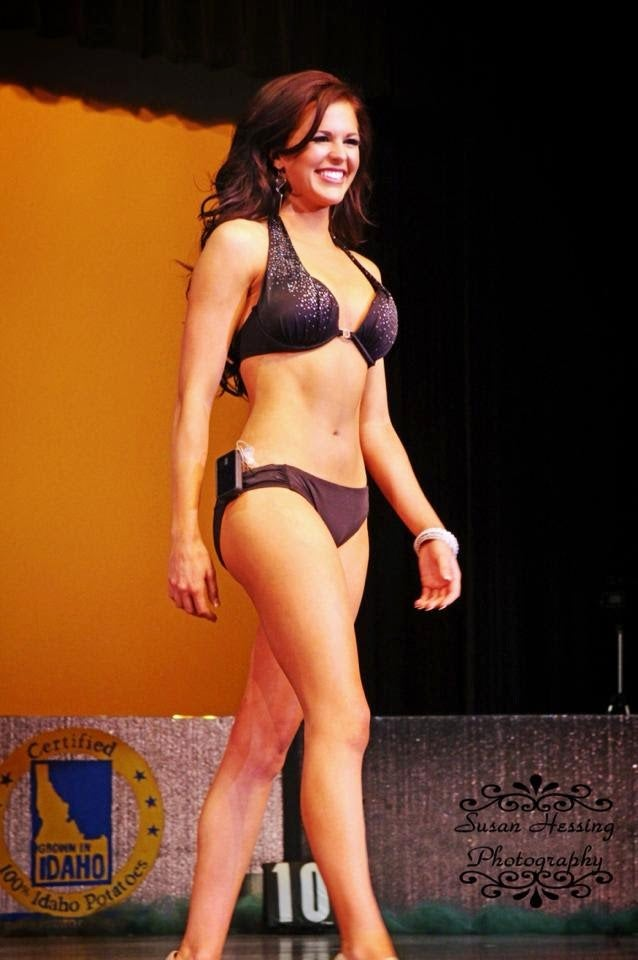 Miss Idaho Wins with Insulin Pump on Full Display