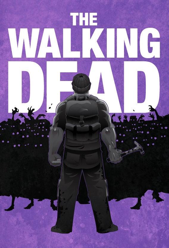 Walking Dead Prints from NinjaBot
