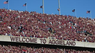How Did A Texas A&M Recruit's Dad End Up With A Trademarked Hashtag?
