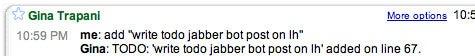 Todo.txt Jabber bot