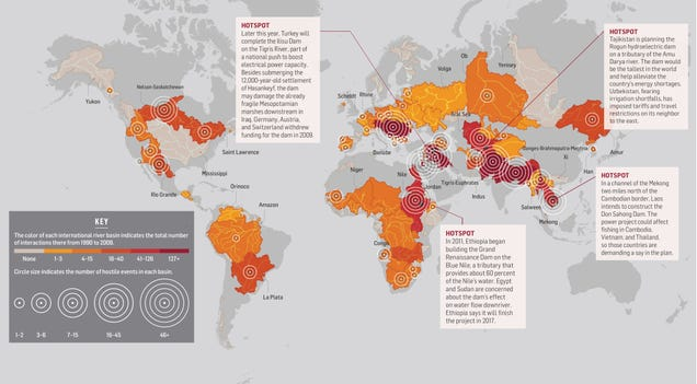 This Map Reveals Where Our Future Water Wars Will Begin