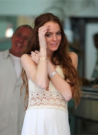 Lindsay Lohan in 'It's Complicated' Reunion