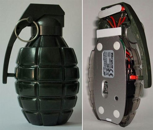 Grenade Mouse: If Rambo Used a Computer