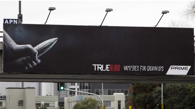 True Blood Ad says everything we ever could about this show with one image