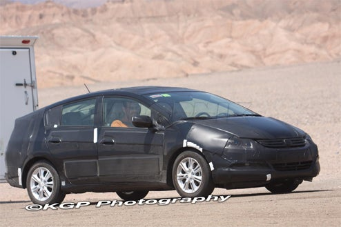 "Honda's New Hybrid Prius-Fighter Caught Desert Testing, Listening To ""Eye Of The Tiger"""