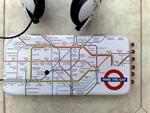 Home-Made Daisy MP3 Player Takes Us (London) Underground