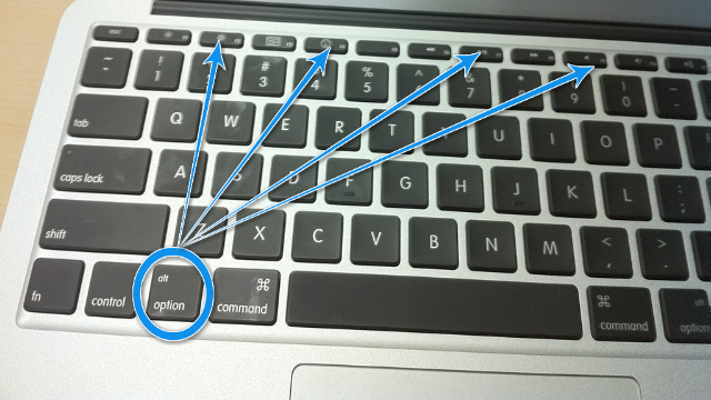 Use the Option Key to Pull Up System Preferences on a MacBook