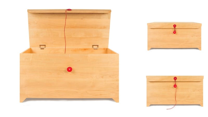 A Beautiful, Modern Chest to Store All Your Grown Up Toys In
