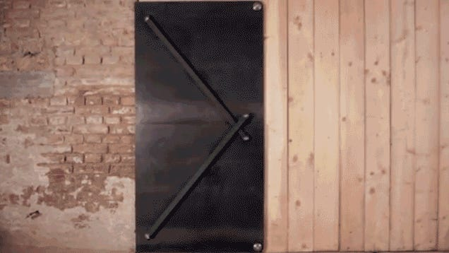 How These Magical, Gravity-Defying Doors Actually Work