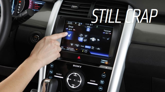 Surprise! Automakers Still Suck At Tech