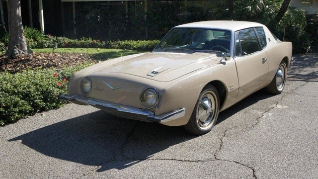 Buy the personal Studebaker Avanti of the man who designed it
