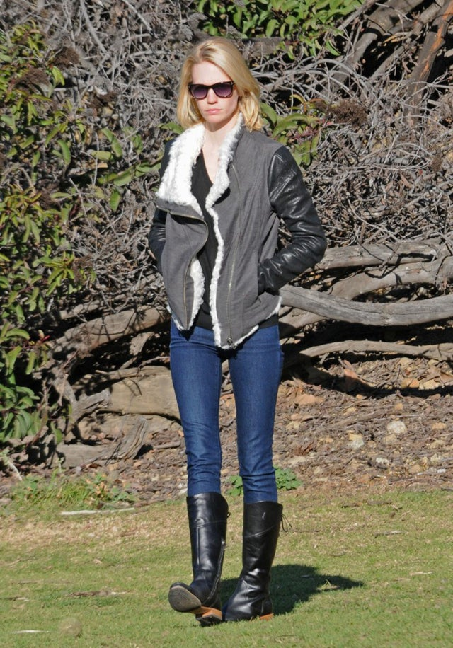 A January Day In The Park With January Jones