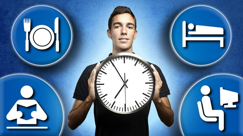 """Master Your """"Body Clock"""" to Eat, Sleep, and Work More Efficiently"""