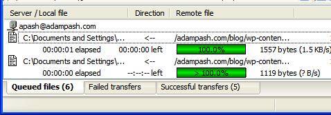 FTP File Transfer Across Platforms with Filezilla 3.0