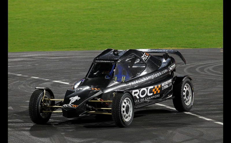 The Cars Of The Race Of Champions