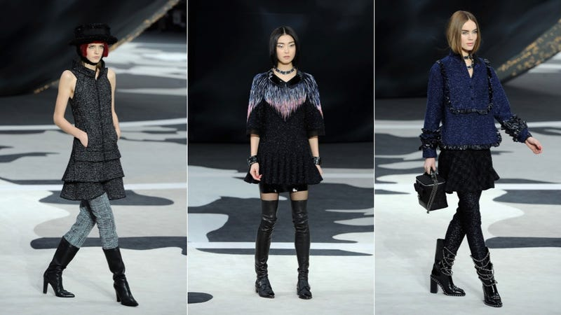 Chanel, for the Pouty Preppy Punk Schoolgirl in You