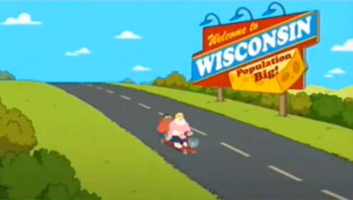 "The Cleveland Show Targets Wisconsin, Begs America to ""Stop Being So Fat"""