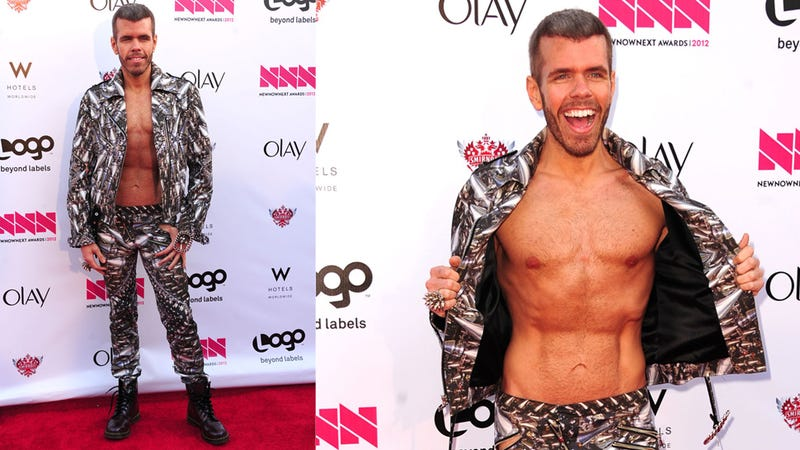 Perez Hilton Takes Right Said Fred Lyrics to Heart