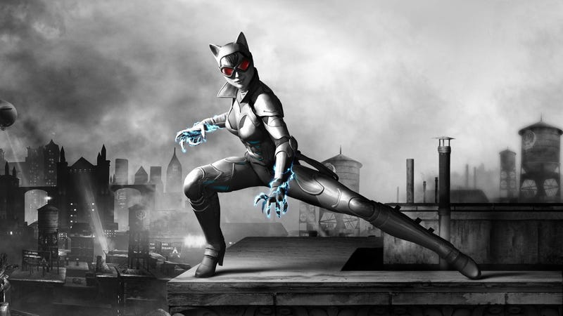 Catwoman Looks More Modest in Batman: Arkham City for Wii U