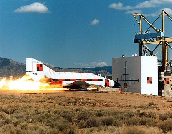Murphy's Law and the Rocket Sleds That Love It