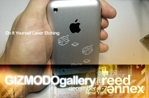 At Gizmodo Gallery: Free DIY Laser Etching