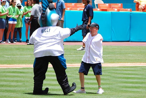 Billy The Marlin Really Should Have Reconsidered High-Fiving In This Situation (UPDATE)