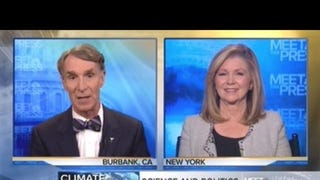 Watch Bill Nye Debate Climate Change With a Denier