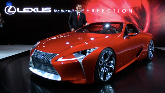 Lexus Looks Spindly, F-Series Lightens Up, And The Cauldron Gets Lit