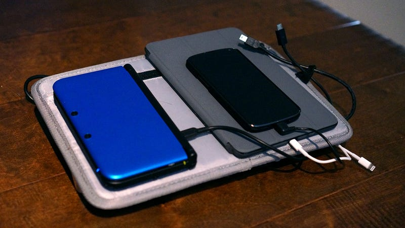 Make a Cable Managed, Battery Powered, Multi-Gadget Charger