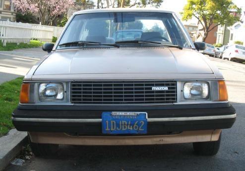 1982 Mazda 626 Luxury