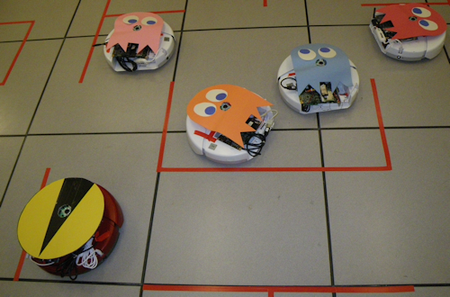 Video: Hacked Roombas Used to Play Pac-Man, Finally!