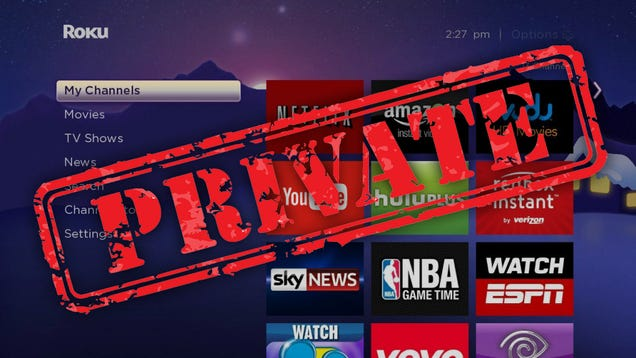 The Best Private Roku Channels, and How to Install Them