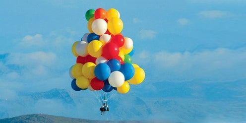 Second Balloon Man Uses GPS, Kool-Aid To Go Where No Brazilian Priest Has Gone Before