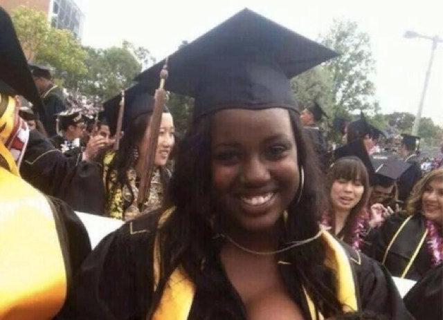 People Somehow Shocked By Woman's Breastfeeding Graduation Photo
