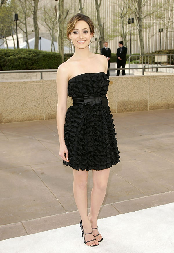Emmy Rossum Is Frilled To Be Attending The Opera