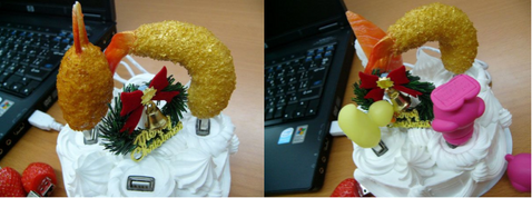 Christmas Cake USB Hub from Solid Alliance Heralds the Arrival of Festive Tat