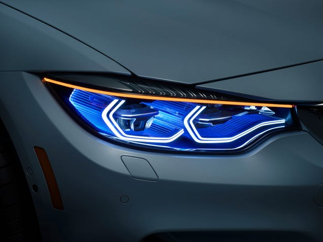 This BMW M4 Concept Has Frickin' Laser Beams For Eyes